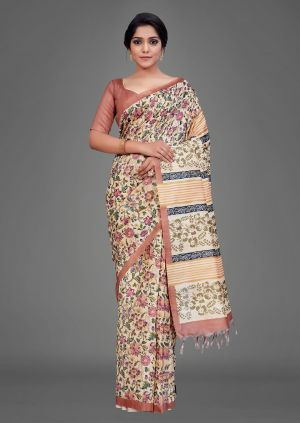 Apple Kalamkari 16 Casual Wear Silk Sarees Collection