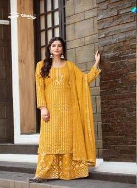 Y.c Galaxy Ethnic Wear Designer Dress Material Collection