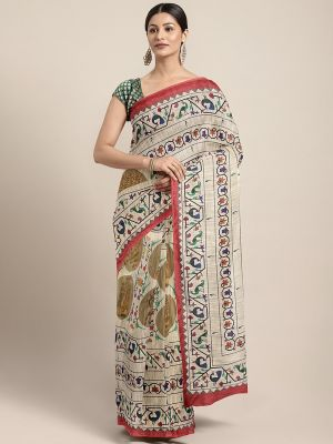 Shaily Indo 1 casual wear digital printed sarees collection