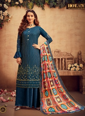 Hotlady Suraiya 6171 Series Designer Salwar Suits Collection