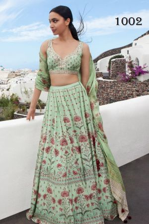 Anita Exclusive Designer Wedding Wear Lehenga Collection