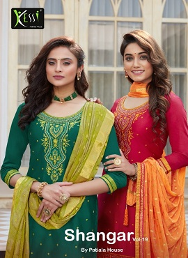 Kessi Shangar By Patiala House 19 Designer Dress Material Collection