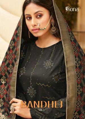 Fiona Bandhej 2 Designer Salwar Suits Collection