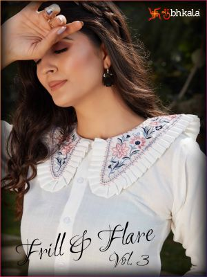 Frill And Flare 3 Exclusive Western Top With Bottom Collection
