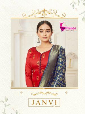 Prince Janvi 1 Designer Dress Material Collection