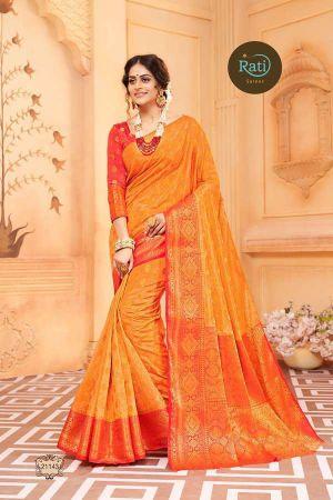 Rati Gold Glame 5 Festive Wear Silk Sarees Collection