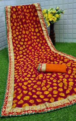 Mahek 21 Casual Wear Printed Sarees Collection