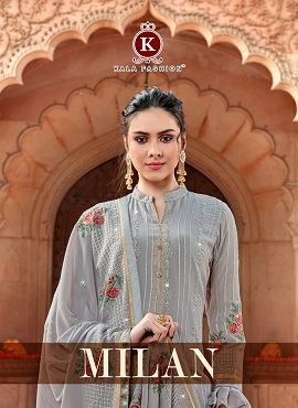 Kala Milan Designer Dress Material Collection