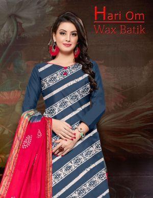 Hari Om Wax Batik Cotton Dress Materials Collection