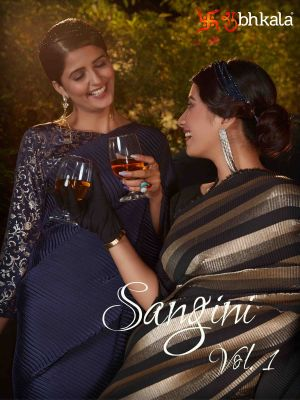 Kf Sangini 1 Fancy Party Wear Silk Sarees Collection