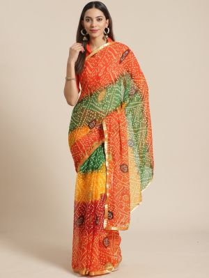 Queen 7 Casual Wear Chiffon Printed Sarees Collection