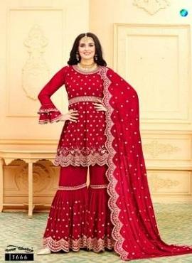 Y.c Zaara 2 Georgette Designer Salwar Suits Collection