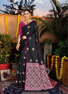 Shangrila Sonpari Silk Festive Wear Silk Sarees Collection
