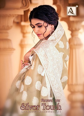 Alok Silver Touch Pure Jam Cotton Designer Dress Material Collection