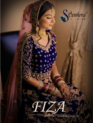 Senhora Fiza 22 Heavy Embroidery Salwar Kameez Collection