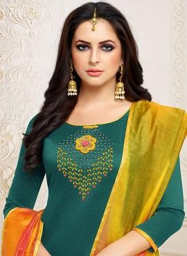 Srijaa Banarasi Silk Casual Wear Designer Dress Material Collection