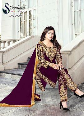 Senhora Super Hits Goldy 20 New Colors Designer Salwar Suits Collection