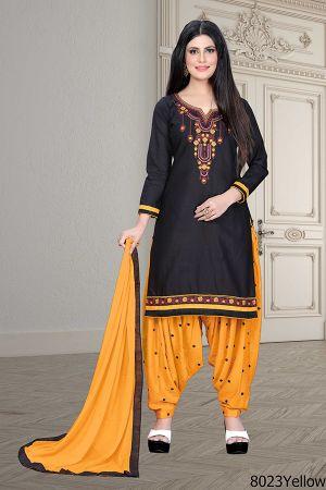 Hem Casual Wear Designer Dress Material Collection