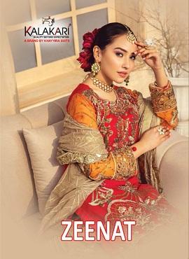 Kalakari Zeenat Pakistani Salwar Suits Collection
