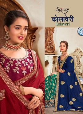 Saroj Kolaveri Festive Wear Silk Sarees Collection