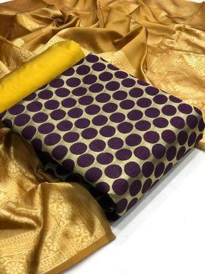 Banarasi Silk Dress 31 Casual Wear Dress Material Collection