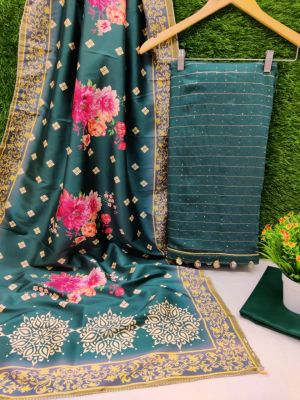 Rnx Dayble Modal Sequence Casual Wear Dress Material Collection