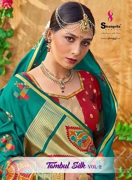 Shangrila Tambul Silk 2 Casual Wear Silk Sarees Collection