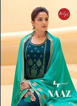 Lt Naaz Casual Wear Designer Dress Material Collection