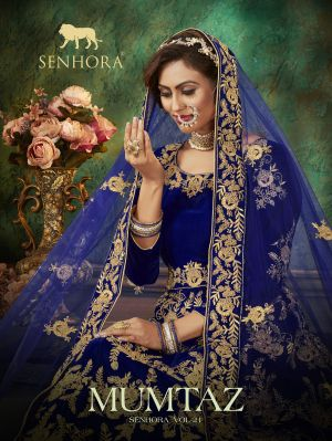 Senhora Mumtaz 21 Heavy Embroidery Salwar Kameez Collection