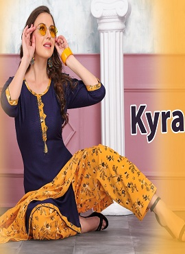 Trendy Kyra Casual Wear Printed Readymade Collection