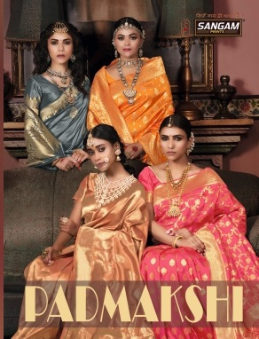 Sangam Padmakshi Festive Wear Silk Sarees Collection