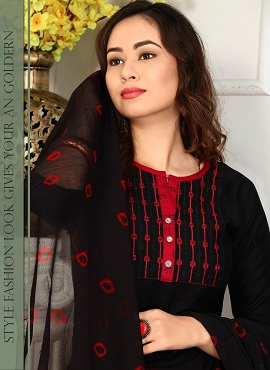 Trendy Retro 2 Rayon Printed Readymade Collection