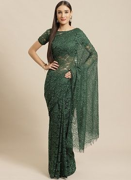 Lacy Affair 2 Fancy Party Wear Net Sarees Collection