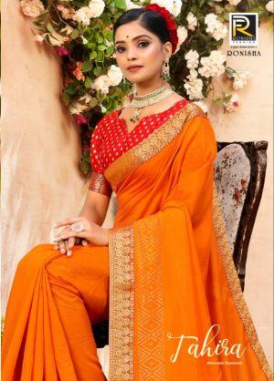 Ronisha Tahira Festive Wear Silk Sarees Collection