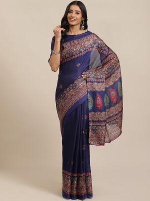 Juth Silk 105 Casual Wear Printed Silk Sarees Collection
