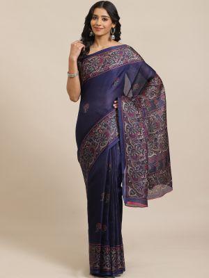 Jute Silk 107 Casual Wear Silk Sarees Collection