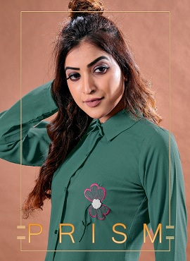 Fg Prism Fancy Elegant Embroidery Work Western Tunics Shirts Collection