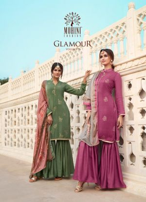 Mohini Glamour 91 Embroidery Salwar Kameez Collection