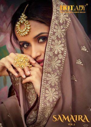 Hotlady Samaira 6191 Series Embroidery Salwar Kameez Collection