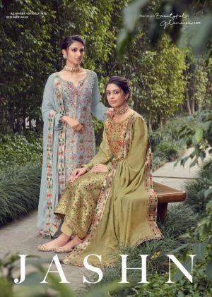 Karma Jashn 1088 Series Jacquard Designer Salwar Suits Collection