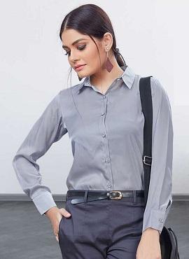 Uniform Shirts Casual Wear Satin Silk Shirt Collection