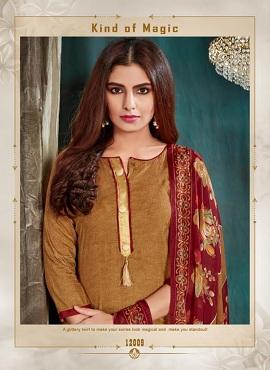 Roli Moli Royal Patiyala Printed Cotton Dress Material Collection
