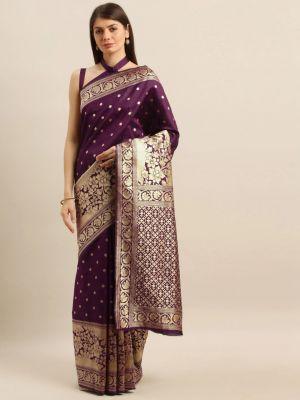 Rich Pallu 4 Fancy Casual Wear Designer Silk Sarees Collection