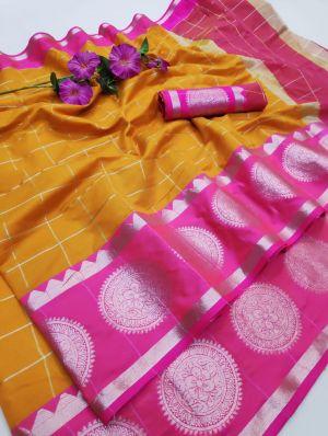 Anarika 26 Casual Wear Lichi Silk Saree Collection