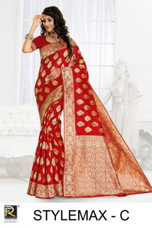 Ronisha Stylemax Casual Wear Silk Sarees Collection