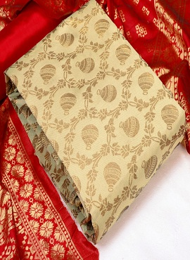 Rnx Matka Jacquard Casual Wear Dress Material Collection