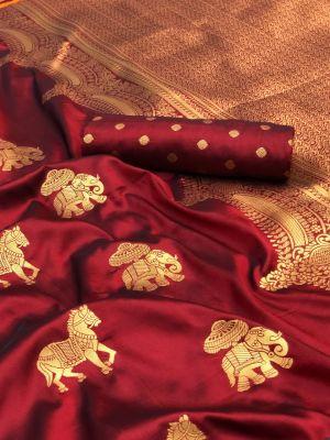 Niharika Silk 49 Festive Wear Banarasi Saree Collection