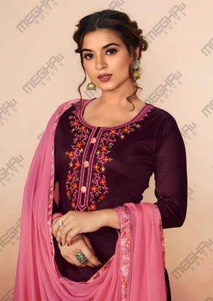Meghali Saroj Casual Wear Printed Designer Dress Material Collection