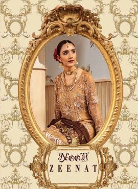 Noor Zeenat 1 Embroidery Pakistani Salwar Suits Collection