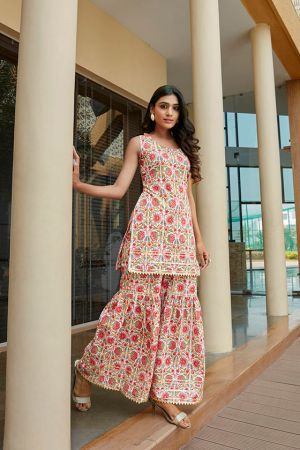 Shaily 2064 Fancy Printed Kurti With Bottom Collection